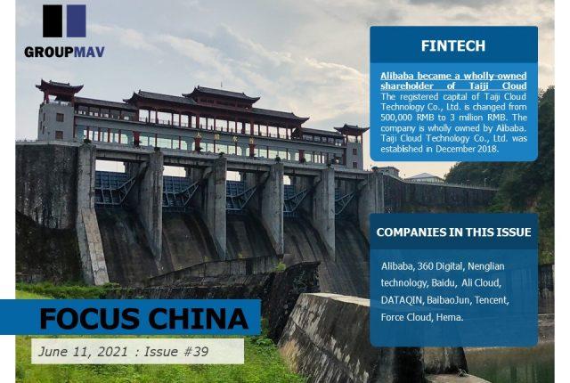 Focus China News Roundup- Issue #39